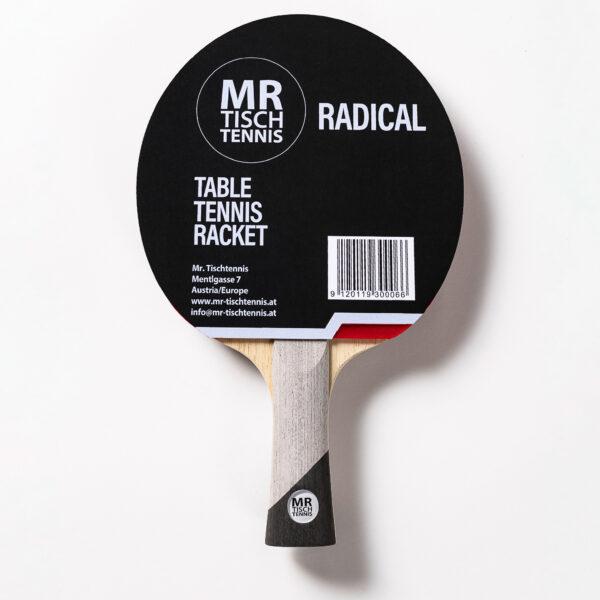 Mr. Tischtennis Fertigschläger Radical