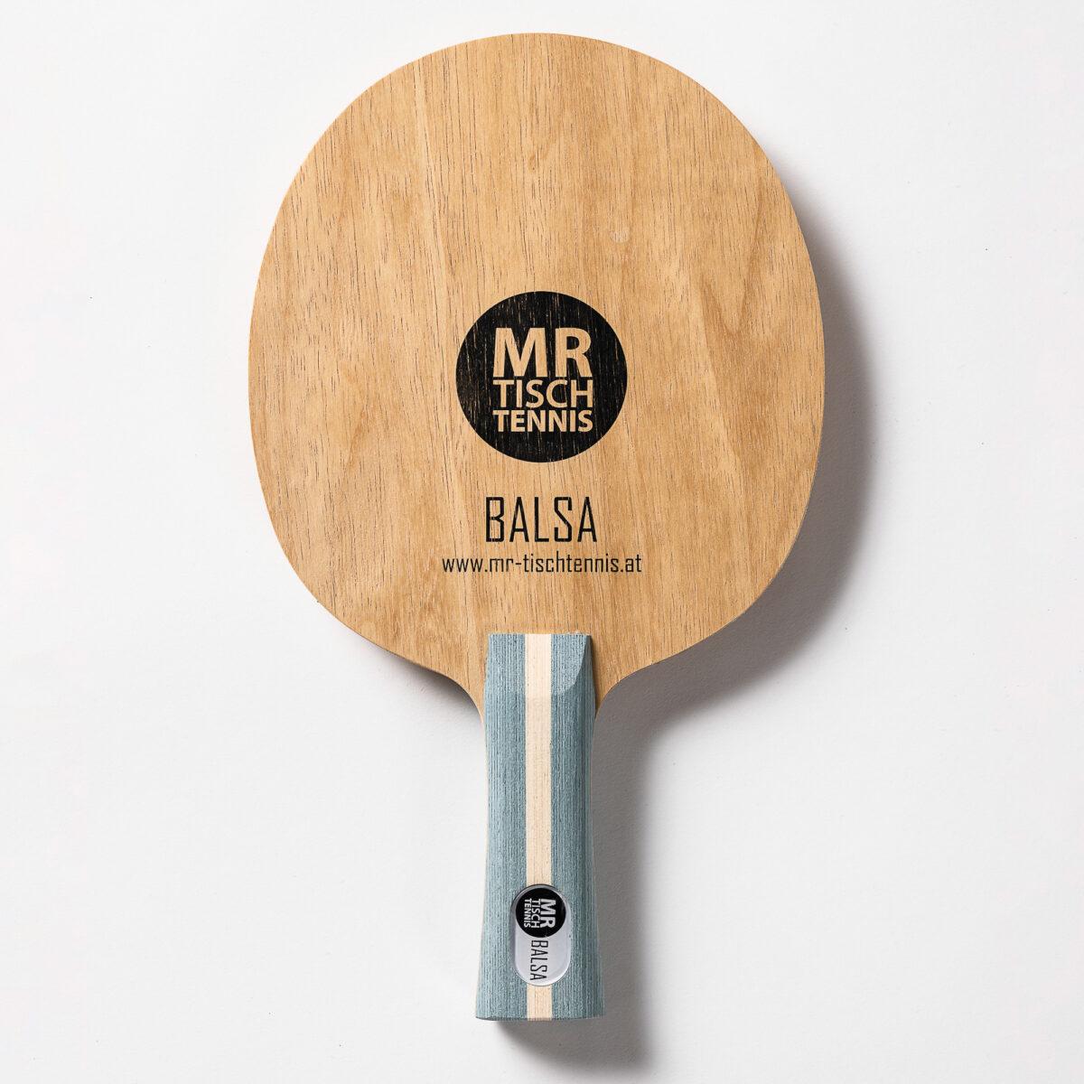 Mr. Tischtennis Balsa konkav