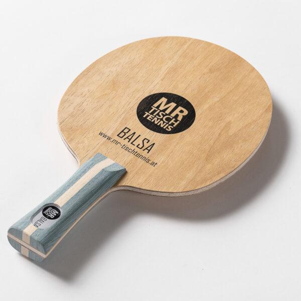 Mr. Tischtennis Balsa seitlich