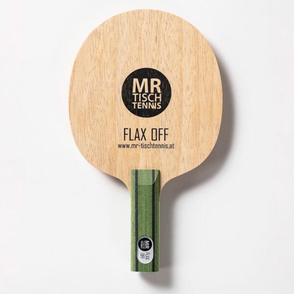 Mr. Tischtennis Flax Off gerade