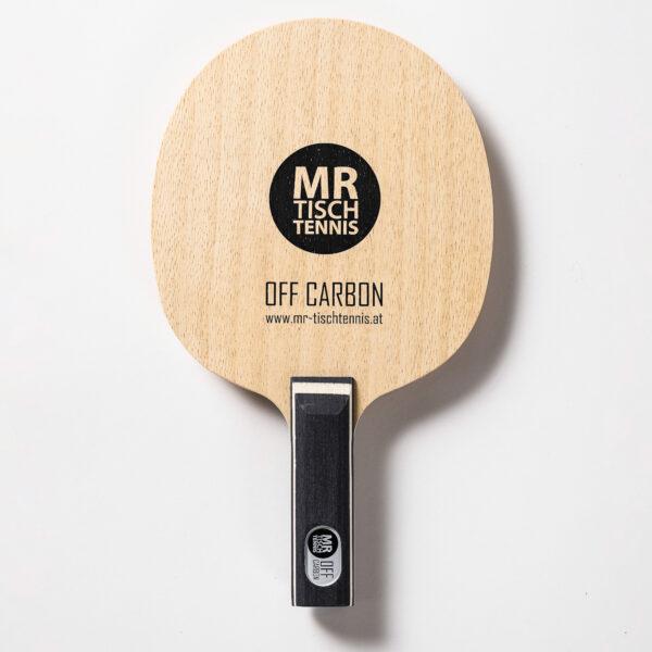 Mr. Tischtennis Off Carbon gerade